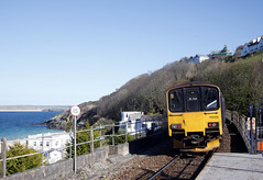 Departure Time (marcus.45111) Tags: flickr cornwall canondslr stives 2016 greatwesternrailway flickruk dieselmultipleunit class150 canoncameras 150243 canon5dmk11 railpassengers