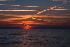 130822_Jullouville_225 (rainerspath) Tags: sunset sea mer france frankreich meer sonnenuntergang bassenormandie jullouville kanalkste