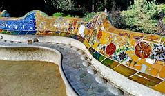 Barcelona Parque Güell (gerard eder) Tags: world barcelona city travel españa art spain europa europe ciudades gaudi gaudí nouveau deco städte spanien modernisme reise jugendstil