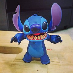 ALOHA!   #stitch #revoltech (bulgolgi) Tags: square squareformat mayfair iphoneography instagramapp uploaded:by=instagram
