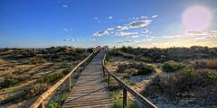 (126/16) En busca del mar (Pablo Arias) Tags: pabloarias espaa spain hdr photomatix nx2 photoshop nubes texturas cielo puntaumbra playa losenebrales huelva andaluca