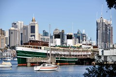 Former Manly Ferry South Steyne moored in Berry's Bay (john cowper) Tags: ferry sydney newsouthwales publictransport sydneyharbour manlyferry southsteyne berrysbay sydneypublictransport