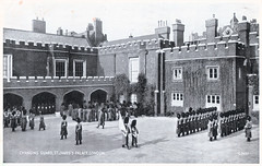 London - St. James's Palace (pepandtim) Tags: old school london st court early official day postcard auntie 1938 guard mother royal palace nostalgia master henry busy monarch lincoln valentines nostalgic leader series guards residence mags buckingham nigel toothache georges grange earls prep friary 1939 hunt jamess sovereign disappeared accessibility leves riseholme 1532 silveresque 27091938 22lsj76