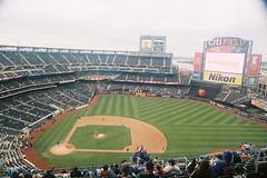 000026 () Tags: newyork film baseball olympus 24mm mets f28 mlb portra400 om1md  hzuiko  citifield autow