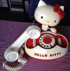 Hello Kitty Telephone Retro Sanrio 1976 Made in Japan (Dayana.jem) Tags: vintage hellokitty sanrio 70s madeinjapan