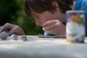 How to make Seedbombs II: Checking their size (Lilla Mariposa) Tags: portrait mud messy flowerseeds seedbombs dogwood52 dogwoodweek19