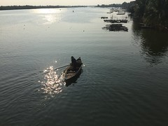 Hoi An river (Bex.Walton) Tags: travel river boat vietnam hoian sampan