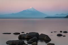 Osorno at Dawn (Waldemar*) Tags: chile longexposure morning lake mountains latinamerica southamerica nature water landscape dawn volcano nikon andes puertovaras osorno leefilters llanquihuelake regionloslagos d800e waldemarhalka wwwhalkaphotocom