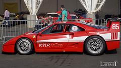 Ferrari F40  - 20160605 (0278) (laurent lhermet) Tags: sport ferrari collection et supercar ferrarif40 levigeant valdevienne sportetcollection circuitduvaldevienne sel1650 sonya6000 sonyilce6000