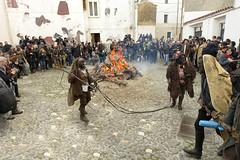 Processione  - (Dei's Light) Tags: sardegna evento lula falo carnevale fuoco maschera rito paese processione folclore barbagia tradizione carrasegare ritidionisici
