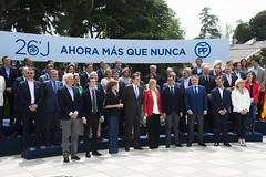 Mariano Rajoy presenta a los cabeza de lista en Congreso y Senado para el 26J (Partido Popular) Tags: rajoy pp marianorajoy partidopopular 26j eleccionesgenerales cospedal mariadolorescospedal cristinacifuentes