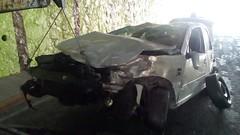 Choque debajo de puente (inqro) Tags: noticias fotos quertaro inqro