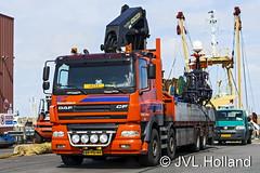DAF CF 85  NL  'Visserij Coperratie  Urk' 160422-153-C4 JVL.Holland (JVL.Holland John & Vera) Tags: holland netherlands truck canon europe transport nederland nl vervoer dafcf85 jvlholland visserijcoperratieurk