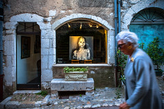 The Picture of Dorian Gray (Aesum) Tags: street portrait people art painting culture ritratto reportage