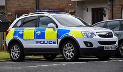 KN62OAU (Cobalt271) Tags: proud 22 police northumbria vehicle to protect vauxhall livery npt antara cdti kn62oau
