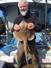 "Andy Sheader with a season's best 5lb 8oz Small Eyed Ray • <a style=""font-size:0.8em;"" href=""http://www.flickr.com/photos/113772263@N05/27339533521/"" target=""_blank"">View on Flickr</a>"