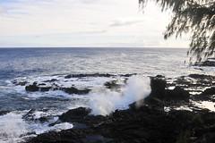 Spouting Horn blowhole (Anders Magnusson) Tags: sea water hawaii nikon rocks blowhole kauai spoutinghorn spouting andersmagnusson