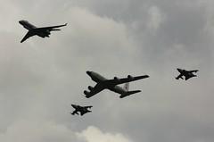 Doing the Monster Mash (crusader752) Tags: london jet formation r1 boeing tornado raf sentinel bombardier ecm panavia royalairforce gr4 elint rivetjoint rc135w zj690 no51squadron za553045 no5acsquadron zz664 airseeker no31squadron thequeens90thbirthdayflypast za548040
