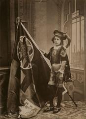 Figurino della Nobile Contrada del Bruco (dopo il 1878) (Il Tesoro di Siena) Tags: italy italia tuscany siena toscana contradadelbruco figurinidicontrada