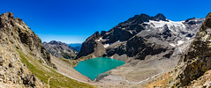 Lac de l'Eychauda. Ecrins (Olivier Dégun) Tags: france montagne alpes canon eos 05 ngc lac paca glacier briançon ecrins randonnée hautesalpes 700d lacdeleychauda flickrunitedaward 1585isusm
