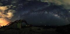 Galaxy, Taitung, Taiwan _IMG_2275_84 (Len) Tags: bridge panorama stars landscape taiwan galaxy   eastcoast  taitung milkyway 6d            ef1635mmf28liiusm  1635lii             nuwalian