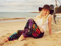 shot for Hippie Sticks Bodalla, NSW Australia (colourbycodes) Tags: portraits published commercial beaches modelling