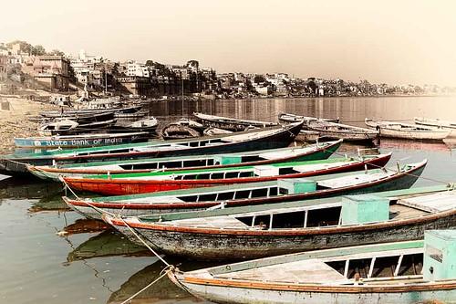 boats explore varanasi ganges ajaygoelworldcolornikonnikkordecisivemomentexplorecreativecommonsflickriverlandscapetravel