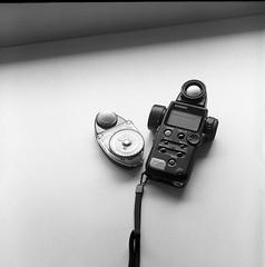 Modern and Old (jasoncremephotography) Tags: blackandwhite 120 tlr film monochrome rollei analog rolleiflex mediumformat square kodak hc110 hp5 analogue lightmeter ilford planar rolleinar 28f sekonic filmphoto dilutionb filmphotograhy