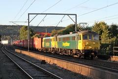 86608 & 86622 Penrith, Cumbria (DieselDude321) Tags: 86608 86622 freightliner class 86 4m11 1734 coatbridge flt crewe basford hall ssm penrith cumbria