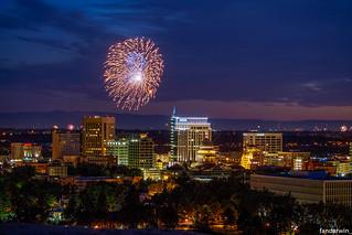 Boise 4th July Fireworks