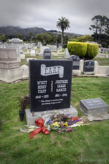 """""""Nothing So Sacred As Honor, Nothing So Loyal As Love"""" (Greatest Paka Photography) Tags: wyattearp gunfighter oldwest tombstone okcorral josephinemarcus sanfrancisco jewish wife marriage cemetery hillsofeternity colma california grave gravestone death josie"""