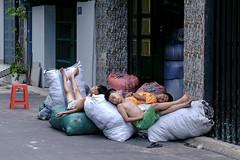 Sleeping child (-clicking-) Tags: life sleeping childhood children sleep innocent streetphotography streetlife vietnam dailylife childish childlike vietnamesechildren