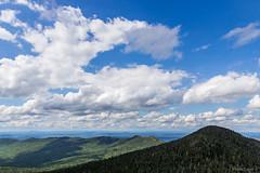 Mount Victoria (NykO18) Tags: canada clouds estrie forest hills landscape montsaintjoseph montmganticnationalpark mounds mountain northamerica parcnationaldumontmgantic peak pinetree qc qubec tree trees woods