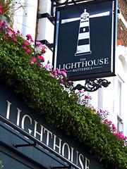 Lighthouse- Battersea (Draopsnai) Tags: lighthouse pub pubsign batterseaparkroad battersea wandsworth