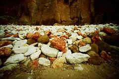 boulders N chunks (lomoD.xx) Tags: hunstanton sunnyhunny boulders cliffface cliffs redandwhite fossils chalkcliff chalk eastanglia norfolk vignette beach sea sand coastline britishcoastline лomo lomolca lomo lca jessops100asaslidefilm 100asa xpro xprocess crossprocessed agfaprecisa100 agfaprecisa precisa100 precisa 100 lomodxx lomodxxwall oldhunstanton