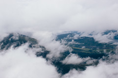 Partial View (Alex Holyoake) Tags: scotland unitedkingdom gb mountain mountainrange bennevis river hill rockface driving mirror car clouds mist