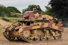 M3 Stuart, Tank Fest 2016, Bovington Tank Museum (harrison-green) Tags: tank fest 2016 bovington museum armour armor vehicle canadian army land forces armed day military canon eos 700d sigma 18250mm outdoor leopard 2 a4 dutch royal netherlands car shgp steven harrisongreen valentine british world war two ii britain england africa north libya tunisia afrika korps infantry matilda 1 one i comet cromwell cruiser light stuart m3 m5 m3a1 m5a1 reconnaissance