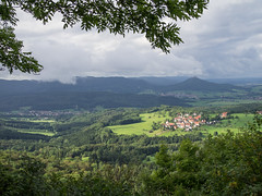 Wider view from Dreifrstenstein (schauplatz) Tags: badenwrttemberg deutschland schwbischealb sommer wanderung beuren burghohenzollern view aussicht