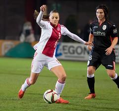 O3205666 (roel.ubels) Tags: amsterdam sport soccer ajax standard league luik voetbal bene 2015 topsport vrouwenvoetbal beneleague
