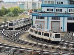 'Ankaray' maintenance base, Ankara (Steve Hobson) Tags: metro m1 siemens maintenance m3 ankara base m2 adtranz ansaldobreda ankaray stz