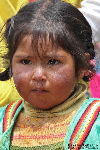 Hija de la Isla flotante - Peru