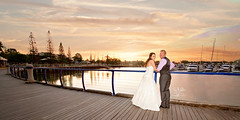 (goodgirlbetty) Tags: wedding sunset sky canon groom bride angle wide sigma marriage overlay