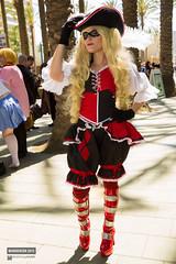 Wondercon 2015 Cosplay Itty Bitty Geek Pirate Harley Quinn (Manny Llanura) Tags: comic geek cosplay harley pirate quinn cosplayer con sdcc wondercon bitty itty 2015