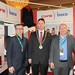 Showtel Paul O'Riordan & Glen Taafe,CWS boco and Stephen McNally, IHF President