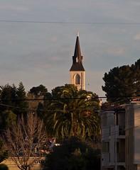 Steeple in the morning (clairehintze) Tags: church morninglight steeple holycross nikond5000 holycrosssantacruz