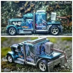 The Thor Truck (tamahaji) Tags: hot wheel collage hammer paint flickr explore malaysia theme custom thor marvel convoy hdr avengers mild the mjölnir mjolnir spectraflame tamahaji