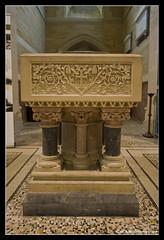 CHURCH OF THE HOLY TRINITY. PRIVETT. 21 (adriangeephotography) Tags: church photography nikon hampshire font adrian gee adriangeephotography