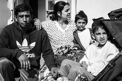 Familie aus Pakistan