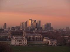 Greenwich view (Catherine Elliott) Tags: london greenwich wharf canary