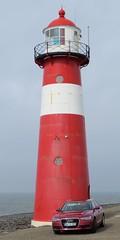 Westkapelle - Leuchtturm am Westkap (stephan200659) Tags: holland nederland zeeland audi westkapelle niederlande walcheren audia6 zoutelande zeeuwse